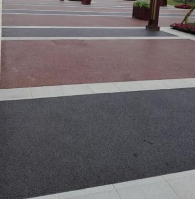 生态透水混凝土道路在园林道路中的应用