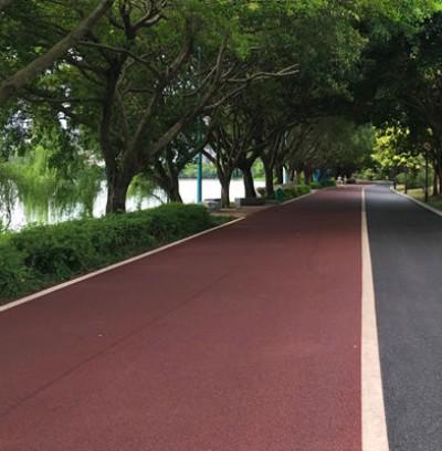 武汉人行道透水地坪